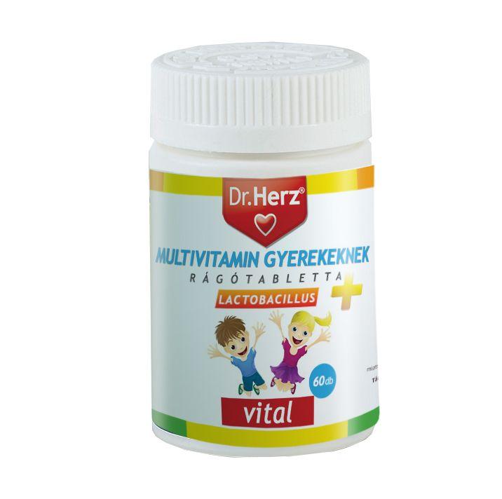 Dr. Herz gyerek multivitamin 130db - gyerekeknek
