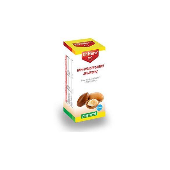 Dr. Herz hidegen sajtolt argán olaj 50ml