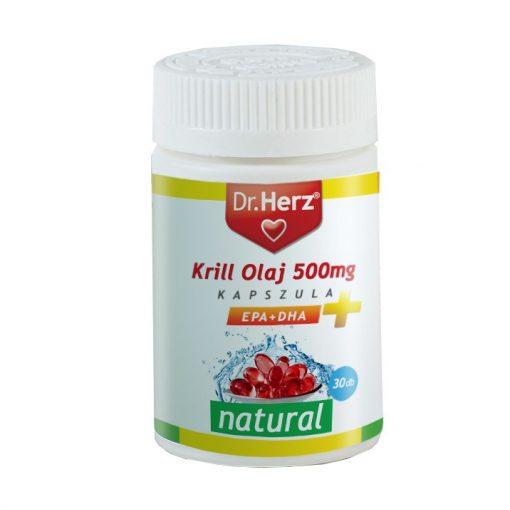 Dr. Herz Krill-Olaj 500mg kapszula 60 db