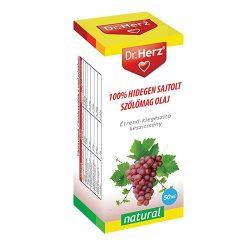 Dr. Herz 100% hidegen sajtolt szőlőmagolaj 50ml