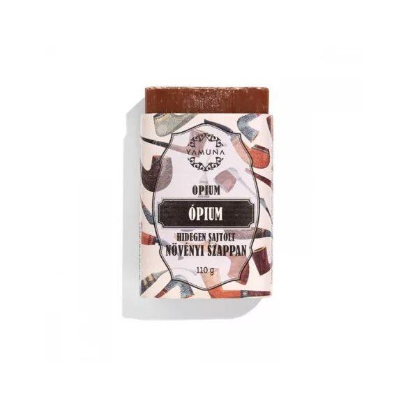 Kizárólag természetes növényi alapanyagokból készül. Vanita Borsmenta krémszappan