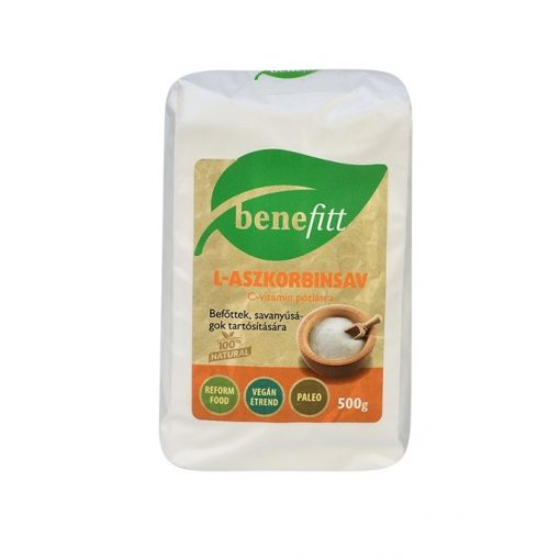 Benefitt Aszkorbinsav 500 gramm