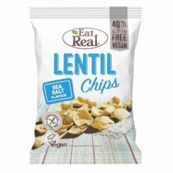 Eat Real Lentil chips-tengeri sós