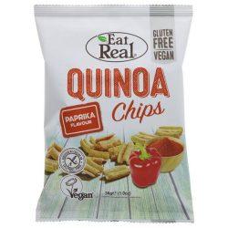 Eat Real Quinoa chips- paprikás