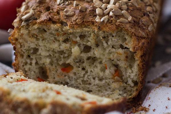 Paprikás-magvas kenyér
