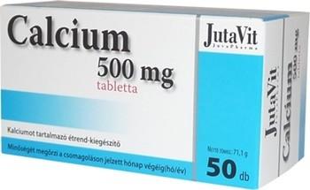 Jutavit kálcium 500mg tabletta 50db